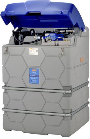 CUBE-Tank AdBlue® Outdoor Premium für ext. Tankautomat mit Klappdeckel