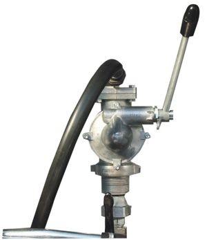 Handpumpe 40 l/min für DT-Mobil liegend mit Auslaufkrümmer und 4m Befüllschlauch