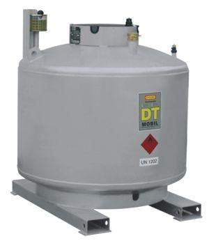 DT-MOBIL doppelwandig 980l ohne Pumpe (lackiert) nach ADR (ohne Pumpenhaube)