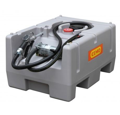 DT-Mobil Easy 125l, leise Elektropumpe CENTRI SP 30 12V, 25l/min, A-Zapfpistole