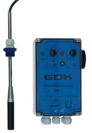 Elektrische Überfüllsicherung IP65