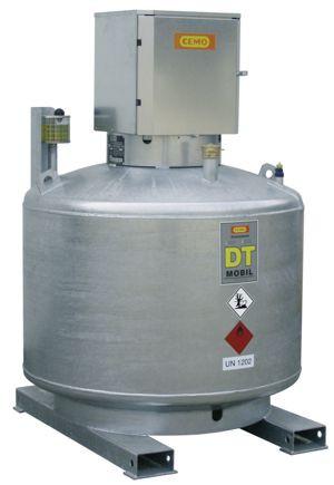 DT-MOBIL doppelwandig 980l ohne Pumpe (verzinkt) nach ADR