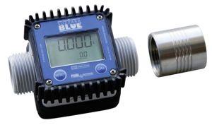 """Elektrischer Durchflusszähler K24, Kunststoff, mit Muffe 1"""" aus Edelstahl"""
