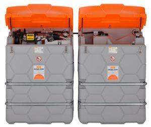 CUBE-Dieseltank Indoor 1500l Erweiterungseinheiten 1