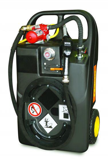 Kraftstoff-Trolley Ex0 60l mit Elektropumpe mit Flammendurchschlagsicherung