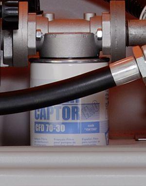 Filter mit Wasserabscheider für CUBE Dieseltank