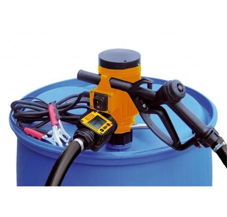 Elektropumpe CENTRI 12 V, 30 l/min effektiv, Automatik-Zapfpistole