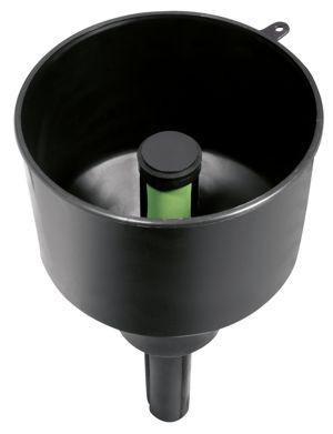 Trichter mit Wasserabscheider und Filter F3C und max. 13 l/min