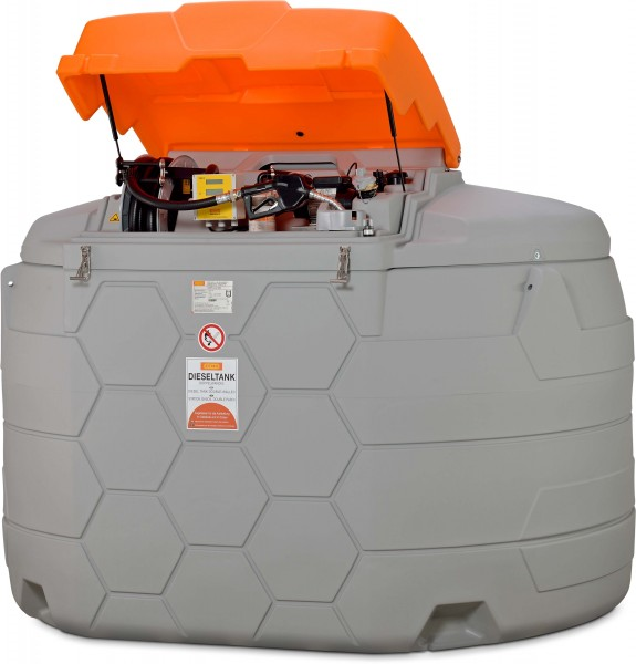 CUBE-Dieseltank Outdoor Premium Plus SIM 5000l mit Tankdatenverwaltung