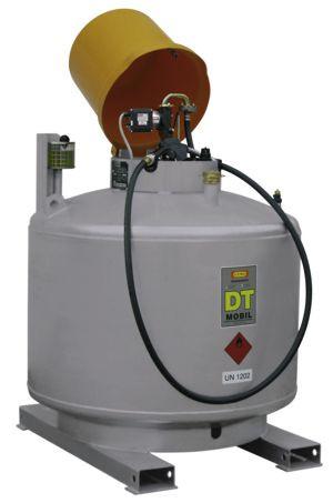 DT-MOBIL einwandig 980l Komplettset (lackiert) nach ADR