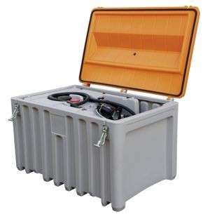 CEMbox 400 l mit Befestigungseinsatz für DT-Mobil Easy
