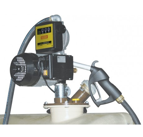 Schmierstoffpumpe Viscomat 70 K33, 230V, selbstansaugend, mit Zapfpistole