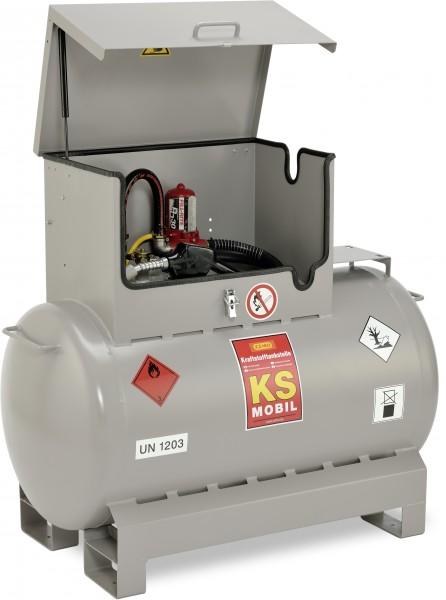 KS-Mobil 300l liegend, Elektropumpe, ADR einwandig lackiert, explosionsdruckfest