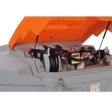 Schlauchaufroller Diesel mit 8m Schlauch DN 25 für 5000l-Tank