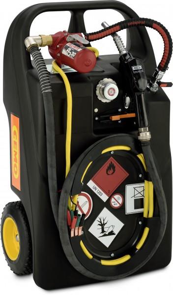Kraftstoff-Trolley Ex0 60l, Elektropumpe mit Flammendurchschlagsicherung