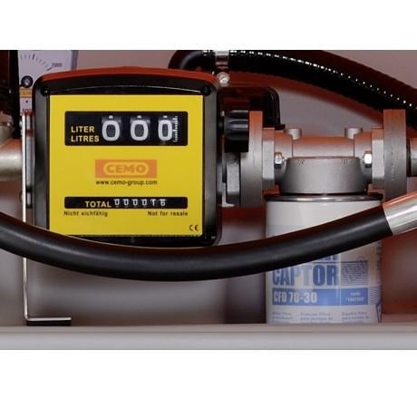 Zählwerk K 33 komplett mit Filter und Wasserabscheider