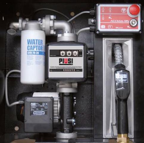 Dieseltankstation BOX ohne Access 85