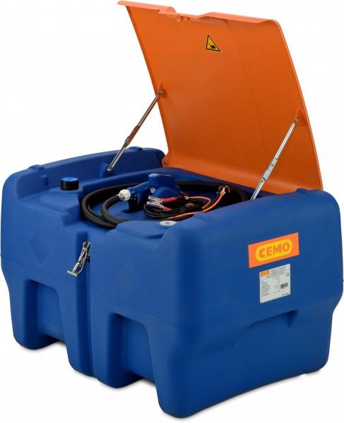 Blue-Mobil Easy 440l mit CENTRI SP30 mit Klappdeckel (geöffnet)