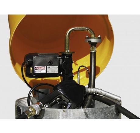 Elektropumpe 230V, 80l/min mit LKW- Automatik-ZP und 6m Befüllschlauch DN25