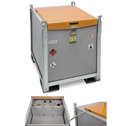 DT-Mobil PRO PE Generatortank 980 l, PE-Innentank, ohne Pumpe, mit ADR-Zulassung