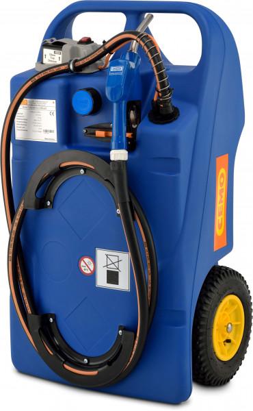 Trolley für AdBlue®, 100 l, mit CENTRI SP 30 12 V, Akku, Zapfschlauch