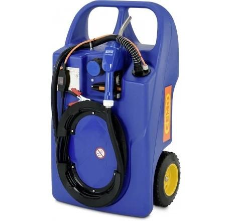 Trolley für AdBlue®, 60l, mit Elektropumpe 12 V und Automatik-Zapfventil