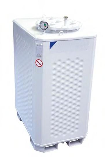 Multitank - Doppelwandiger Stahltank zur Aufstellung in Gebäuden oder im Freien, zugelassen für Frischöl, Diesel / Heizöl, Altöl bekannter Herkunft