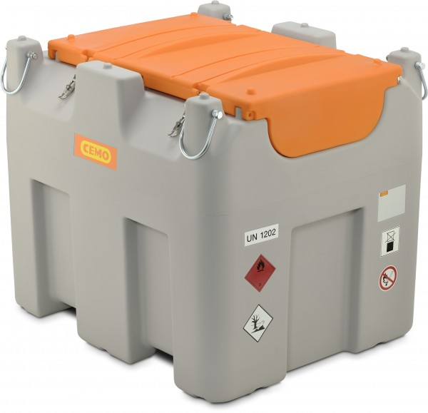 DT-Mobil Easy COMBI 850/100l Diesel/AdBlue®, Basic, Elektropumpe, ADR-Zulassung