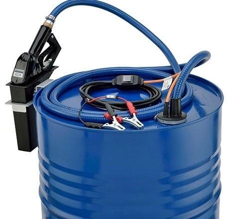 Tauchpumpe SP 30, 12 V für Diesel, 4m Kabel mit Schalter und Polzangen
