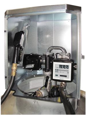 Elektropumpe, ca. 40 l/min, 12 V, ATEX für KS-Mobil, mit Zähler