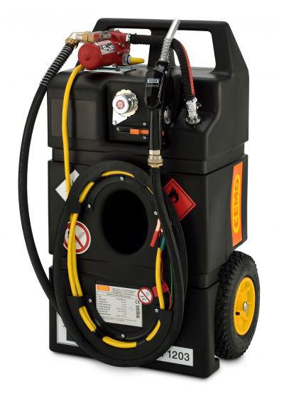 Kraftstoff-Trolley Ex0 95l mit Handpumpe mit Flammendurchschlagsicherung